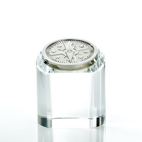 Compass Rondure Crystal Award