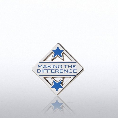 Making the Difference Lapel Pin