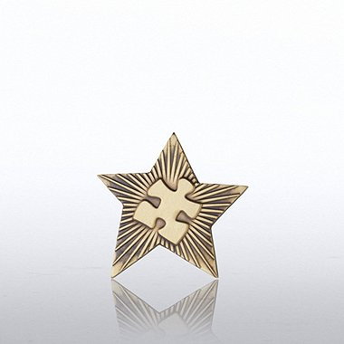 Lapel Pin - Gold Star Essential Piece