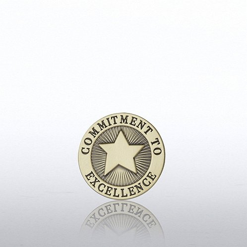 Commitment Star Lapel Pin Lapel Pin