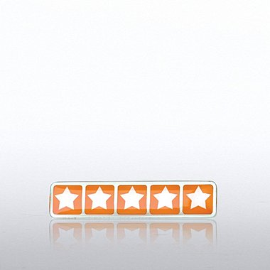 Lapel Pin - Five Star Rating