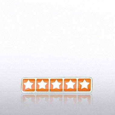 Lapel Pin - Five Star Rating