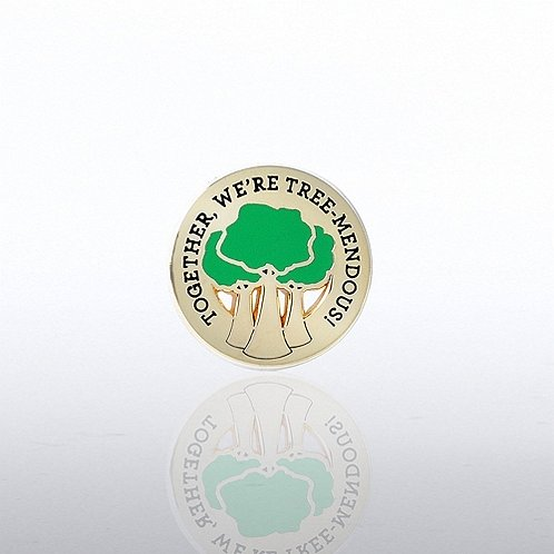 Growing Together Lapel Pin