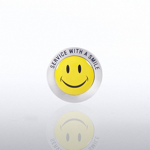 Service Smile Lapel Pin