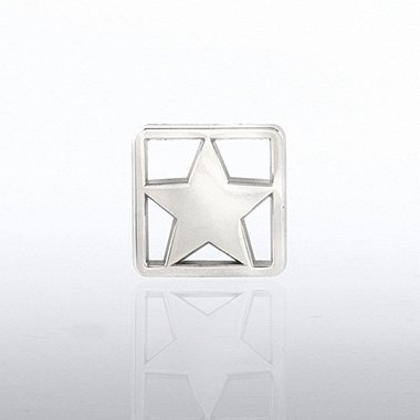 Lapel Pin - Square Star