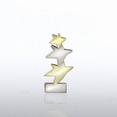 Lapel Pin - Tri Star