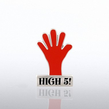 Lapel Pin - High 5 Hand