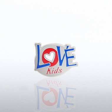Lapel Pin - Love Kids