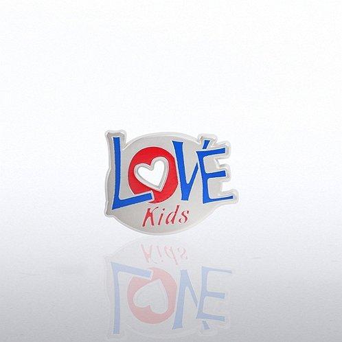 Love Kids Lapel Pin