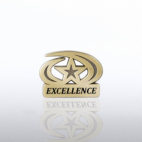 Excellence Star Lapel Pin