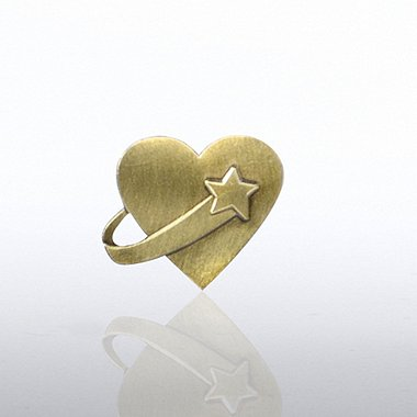 Lapel Pin - Above & Beyond Heart