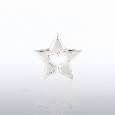 Lapel Pin - Star Heart