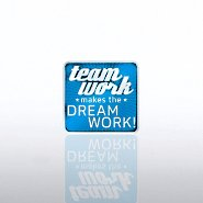 Lapel Pin - Team Work Makes the Dreamwork