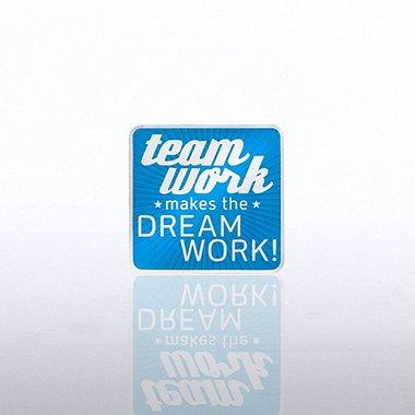 Lapel Pin - Team Work Makes the Dreamwork