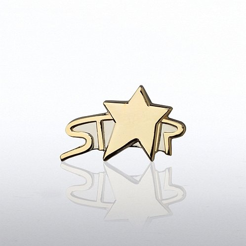 Arc Star Lapel Pin