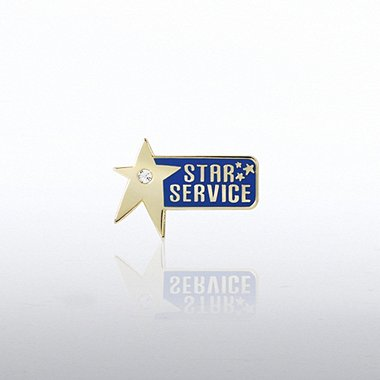 Lapel Pin - Service Star Gem