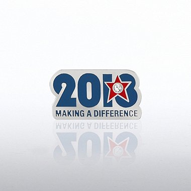 Lapel Pin - 2013 Making a Difference Gem