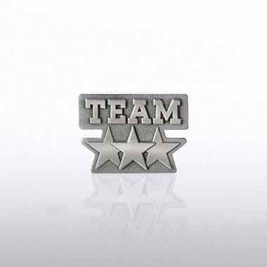 Lapel Pin - Team Stars