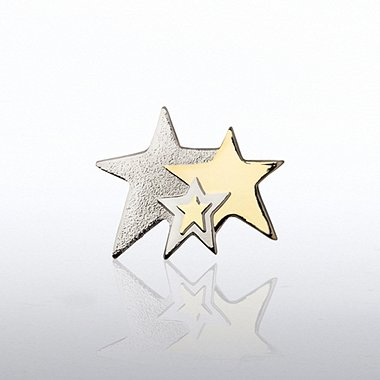 Lapel Pin - Three Stars