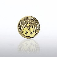 Lapel Pin - Magic Hands - Making the Difference