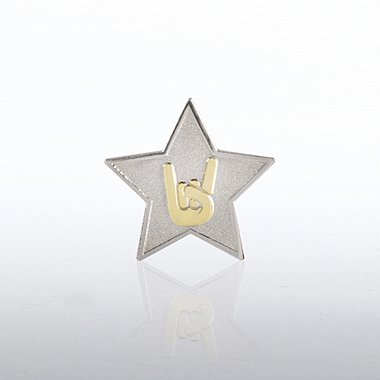 Lapel Pin - Star: You Rock