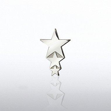 Lapel Pin - Cascading Stars