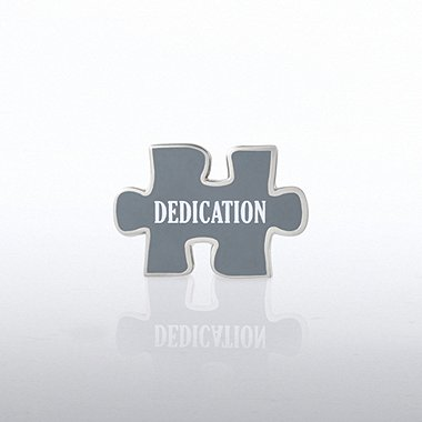 Lapel Pin - Puzzle Dedication