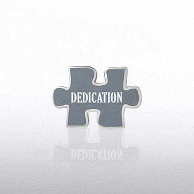 Lapel Pin - Puzzle Dedication