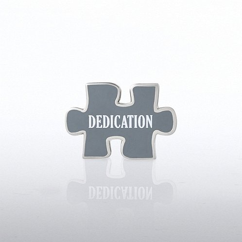Puzzle Dedication Lapel Pin
