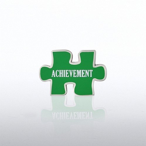 Puzzle Achievement Lapel Pin