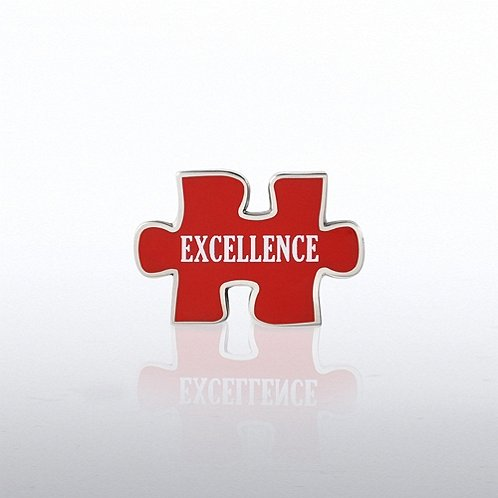 Puzzle Excellence Lapel Pin