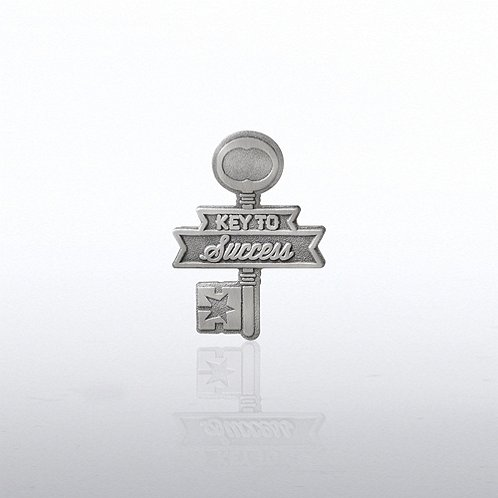 Key to Success Key Lapel Pin