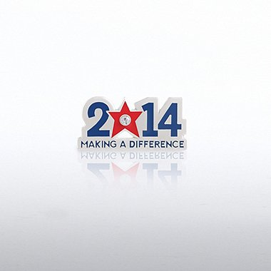 Lapel Pin - 2014 Making a Difference Gem