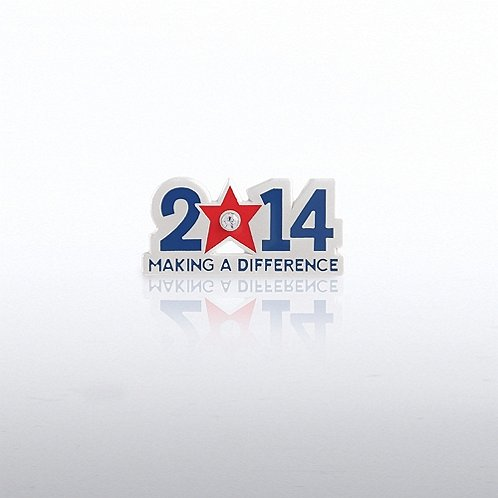 2014 Making a Difference Gem Lapel Pin