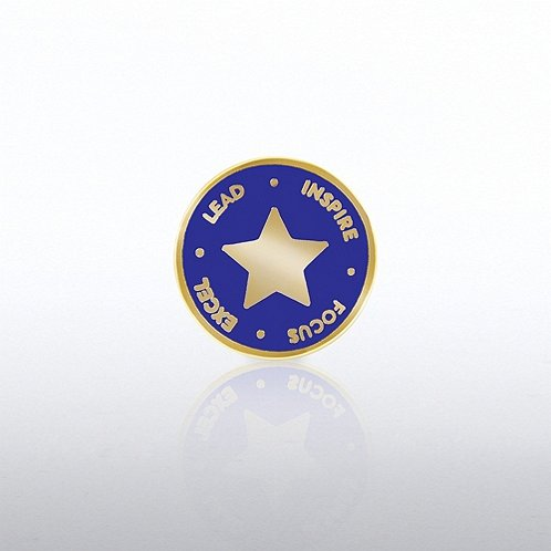 L.I.F.E Star Lapel Pin
