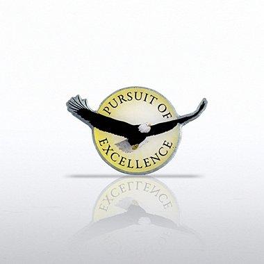 Lapel Pin - Eagle: Pursuit of Excellence