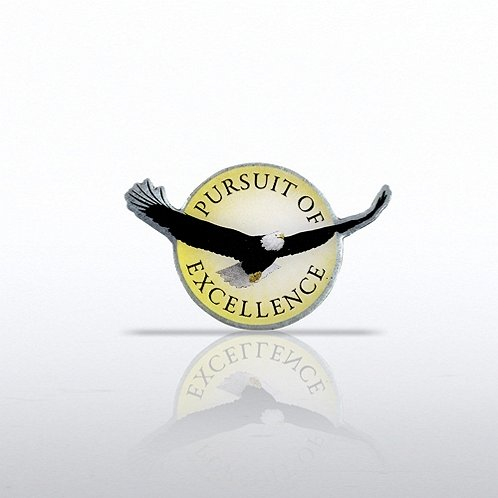 Eagle: Pursuit of Excellence Lapel Pin