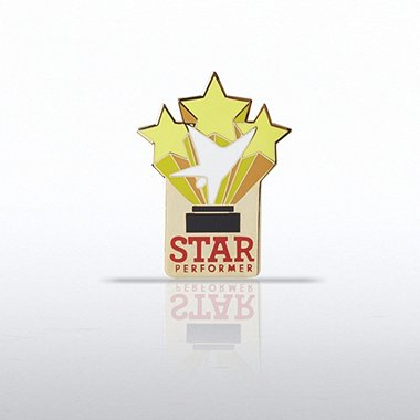 Lapel Pin - Trio of Stars - Star Performer