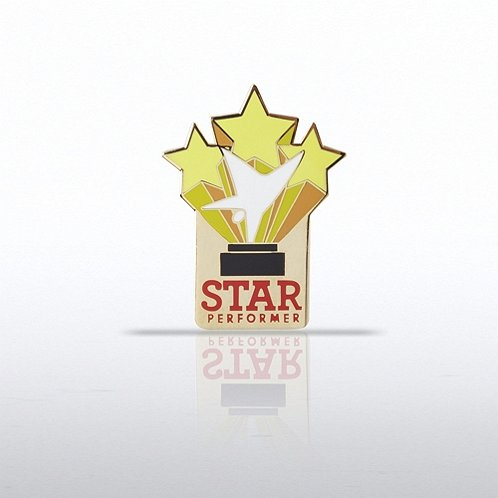 Trio of Stars - Star Performer Lapel Pin