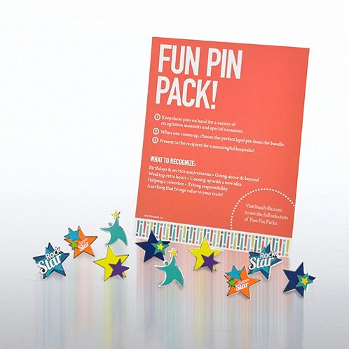 You Are a Star Fun Pin Pack