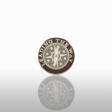 Lapel Pin - Leading the Way - Round