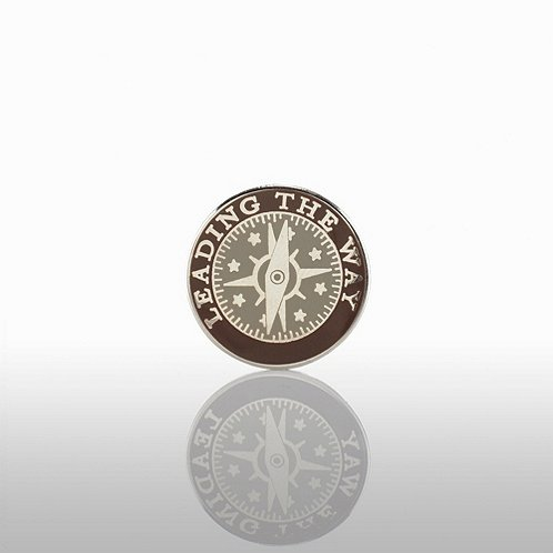 Leading the Way - Round Lapel Pin