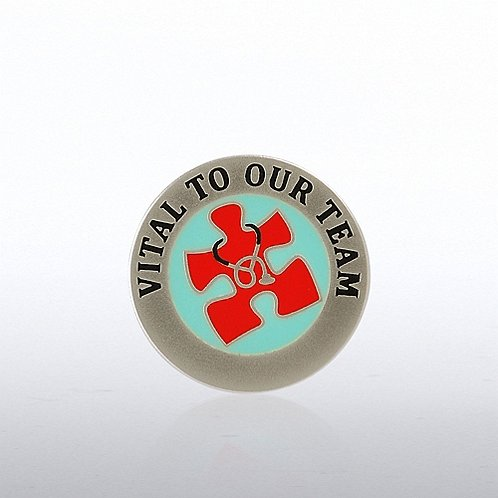 Essential Piece Healthcare Lapel Pin