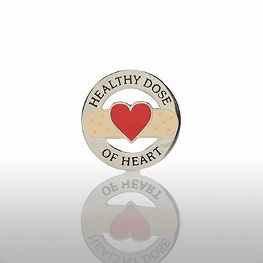 Lapel Pin - Healthy Dose of Heart