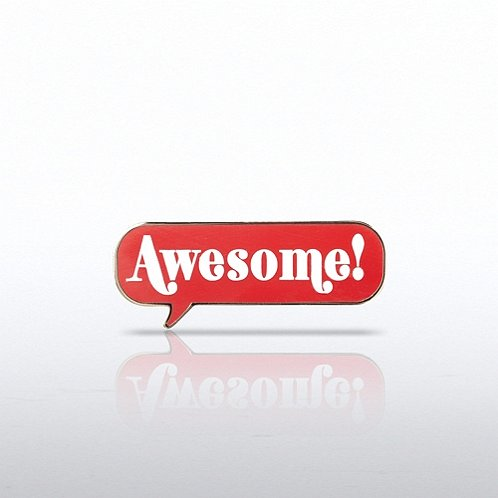 Awesome! Lapel Pin