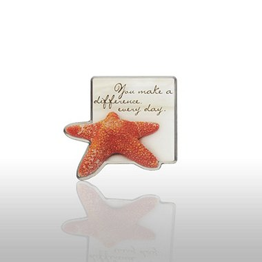 Lapel Pin - Starfish: Making the Difference - Sand Star