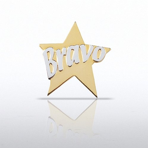 Bravo Star Lapel Pin