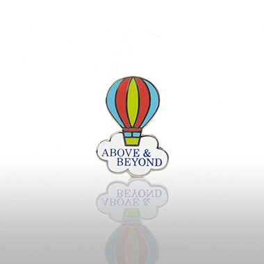 Lapel Pin - Above & Beyond - Balloon