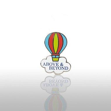 Lapel Pin - Above & Beyond - Balloon