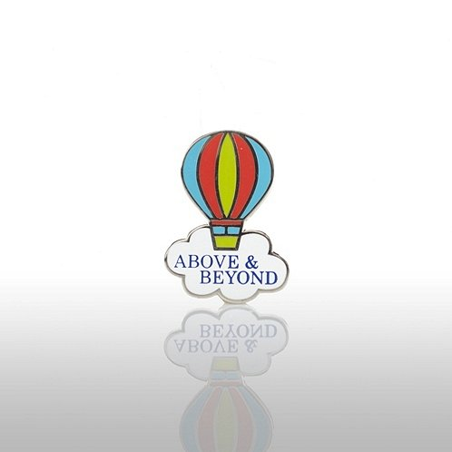 Above & Beyond - Balloon Lapel Pin